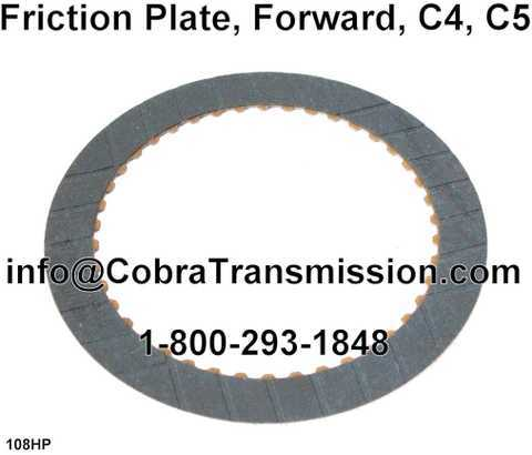 Friction Plate, Forward, C4, C5