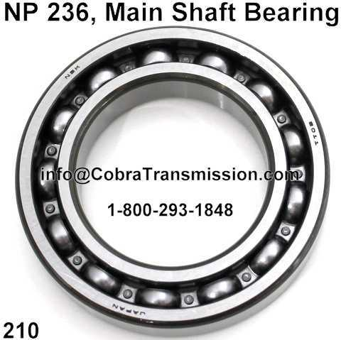 NP 236, Main Shaft Bearing