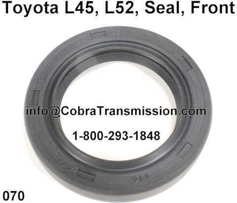 Toyota L45, L52, Seal, Front
