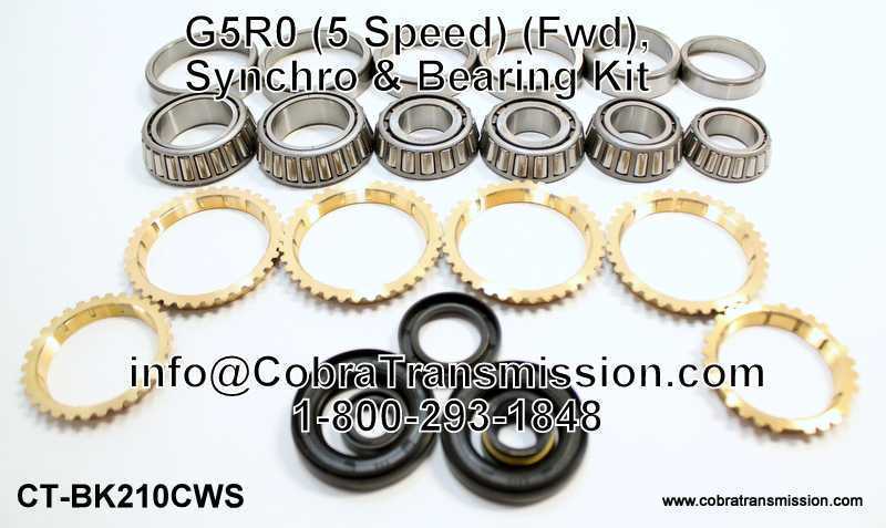 G5R0 Synchro, Bearing, Gasket and Seal Kit