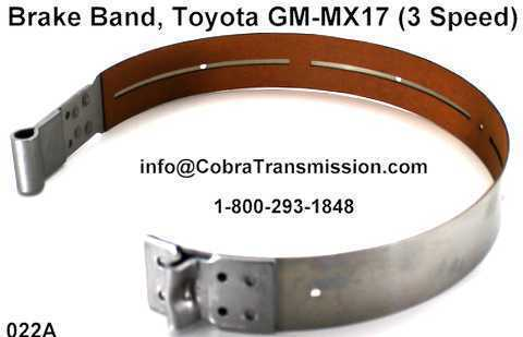 Cinta de Freno - Banda, Toyota GM-MX17 (3 Speed)