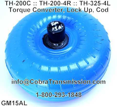 TH-200C, TH-325-4L Torque Converter, Lock Up