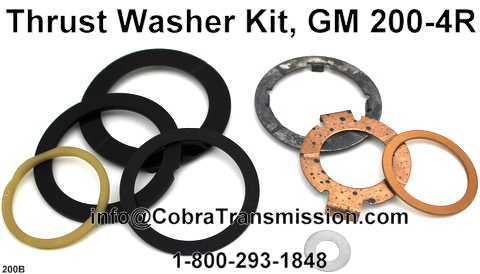 Thrust Washer Kit, GM 200-4R