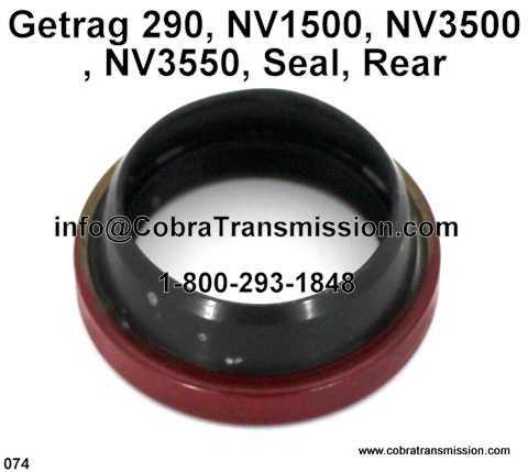 Getrag 290, NV1500, NV3500, NV3550, Seal, Rear