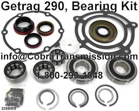 Getrag 290 Bearing, Gasket and Seal Kit