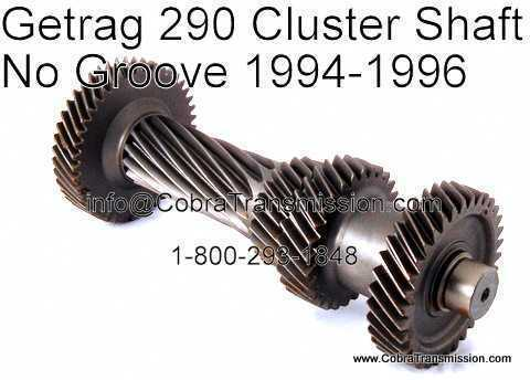 Getrag 290, NV1500, NV3500, NV3550 Cluster Shaft
