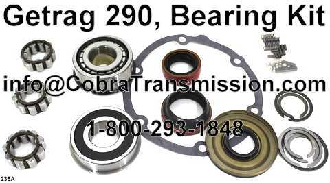 Getrag 290, Bearing, Gasket and Seal Kit