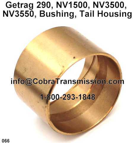 Getrag 290, NV1500, NV3500, NV3550, Bushing, Tail Housing