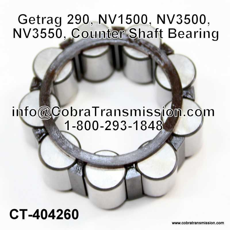 Getrag 290, NV1500, NV3500, NV3550, Counter Shaft Bearing