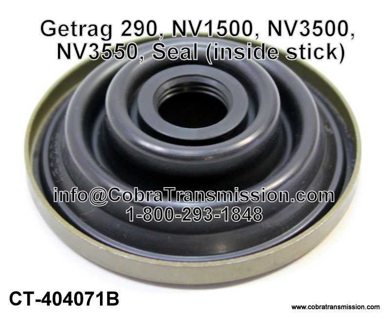 Getrag 290, NV1500, NV3500, NV3550, Seal (inside stick)