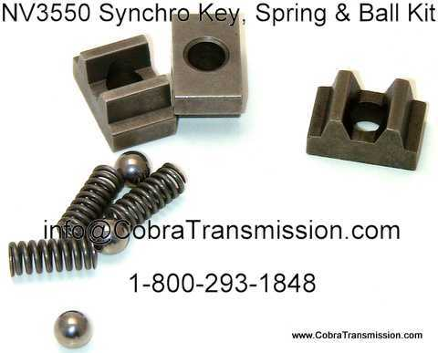 NV5600 Key Spring and Ball Kit