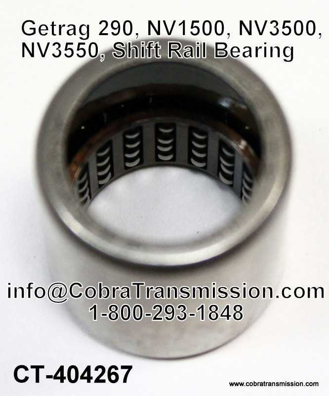 Getrag 290, NV1500, NV3500, NV3550, Shift Rail Bearing