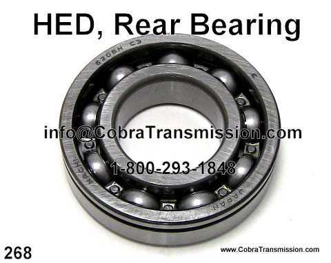 HED, Rear Bearing