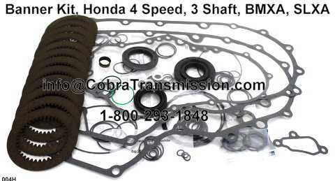 Banner Kit, Honda 4 Speed, 3 Shaft, BMXA, SLXA