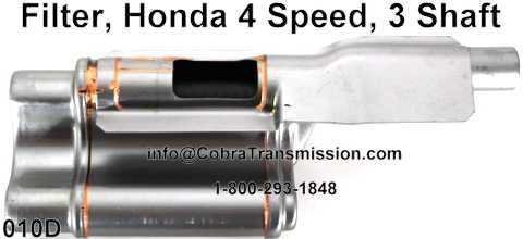 Filter, Honda 4 Speed, 3 Shaft