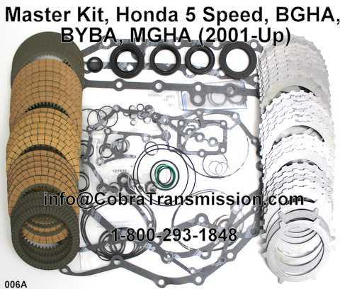 Master Kit, Honda 5 Speed, BGHA, BYBA, MGHA (2001-Up)