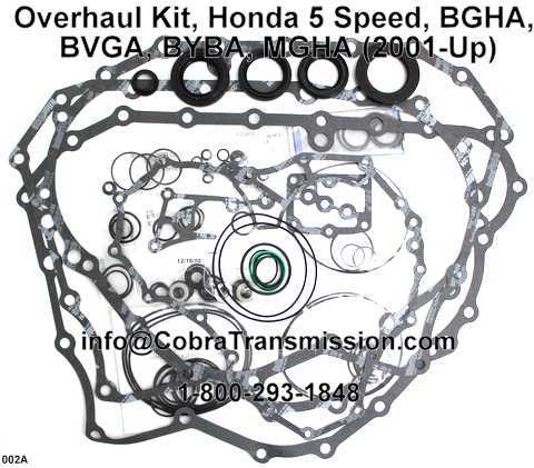 Overhaul Kit, Honda 5 Speed, BGHA, BVGA, BYBA, MGHA (2001-Up)