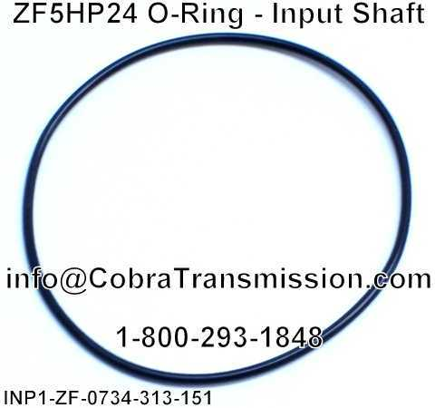 ZF5HP24 O-Ring - Input Shaft
