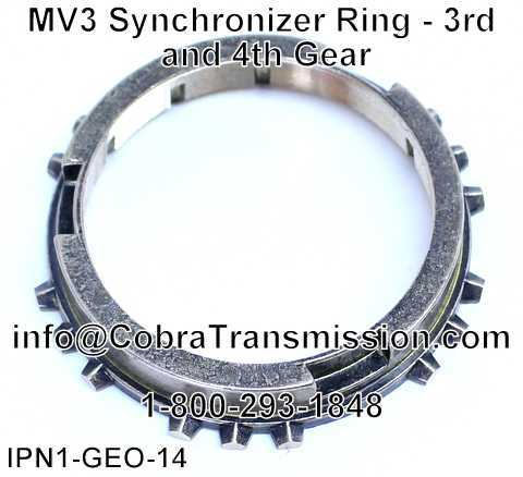 MV3 Synchronizer Ring - 3rd and 4th Gear