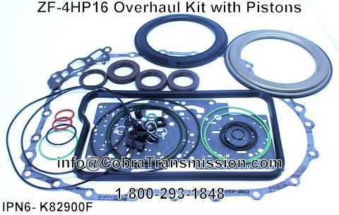 ZF-4HP16 Overhaul Kit with Pistons