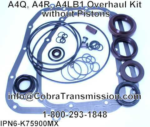 A4Q, A4R, A4LB1 Overhaul Kit without Pistons