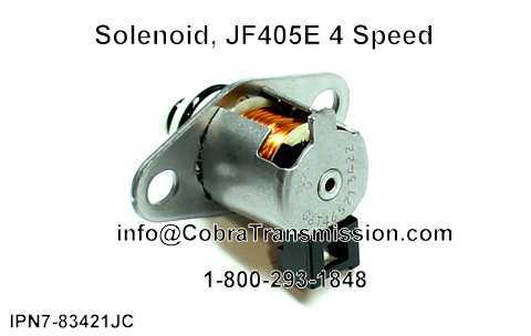 Solenoid, JF405E 4 Speed