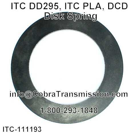 ITC DD295, ITC PLA, DCD Resorte de Disco