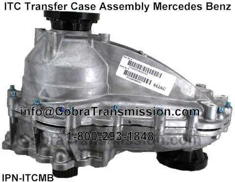 MB ITC Transfer Case Non-Shift Motor