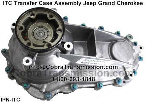 Itc Transfer Case Assembly Jeep Grand Cherokee 52853662ac