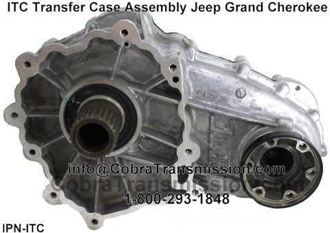 Itc Complete Transfer Case Integrated Jeep Gran Cherokee on Rockwell Transmission Parts