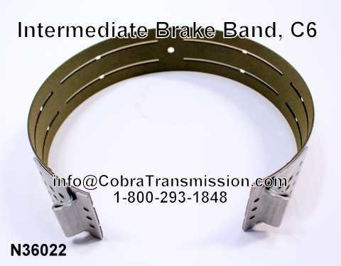 Intermediate Brake Band, C6