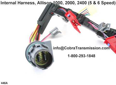 Internal Harness Allison 1000 2000 2400 transmission parts (2) internal harness, allison 1000, 2000, 2400 (5 & 6 speed) [d121446a  at n-0.co