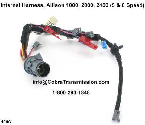 Internal Harness, Allison 1000, 2000, 2400 (5 & 6 Speed)