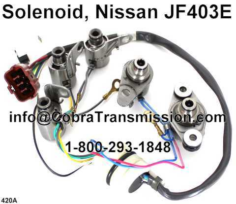 Solenoid, Nissan JF403E