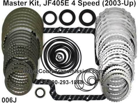 Master Kit, JF405E 4 Speed (2003-Up)