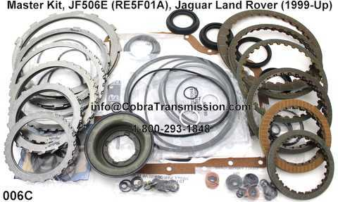 Master Kit, JF506E (RE5F01A), Jaguar Land Rover (1999-Up)