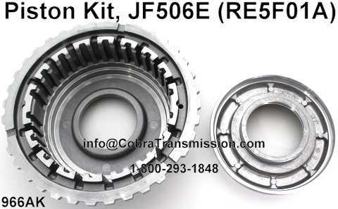 Piston Kit, JF506E (RE5F01A)
