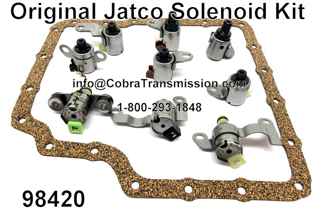 JF506E (VW 09A) New Original Jatco Solenoid Kit
