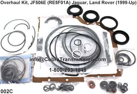 Overhaul Kit, JF506E (RE5F01A) Jaguar, Land Rover (1999-Up)