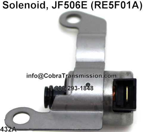 Solenoide, JF506E (RE5F01A)