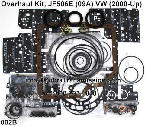 Overhaul Kit, JF506E (09A) VW (2000-Up)