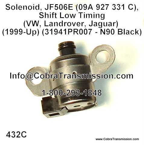 Solenoid, JF506E (RE5F01A)