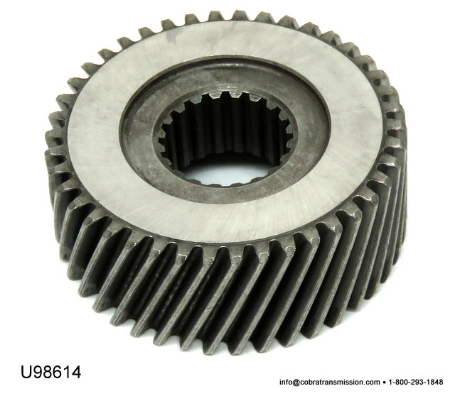 JF506E, Sun Gears, Shells & Supports, Sun Gear, Rear
