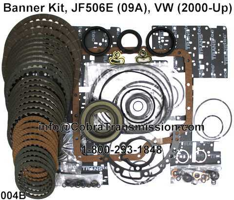 Banner Kit, JF506E (09A), VW (2000-Up)