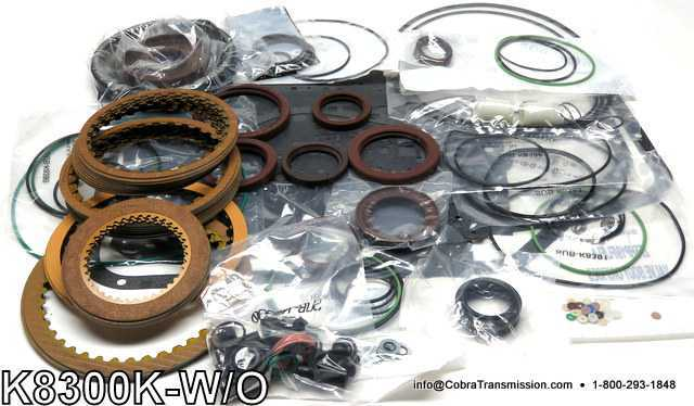 ZF5HP19/FL Banner Kit - WITH Pistons BMW, VW