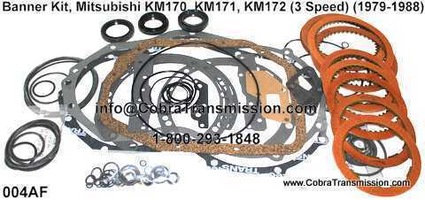 Banner Kit, Mitsubishi KM170, KM171, KM172 (3 Speed) (1979-1988)