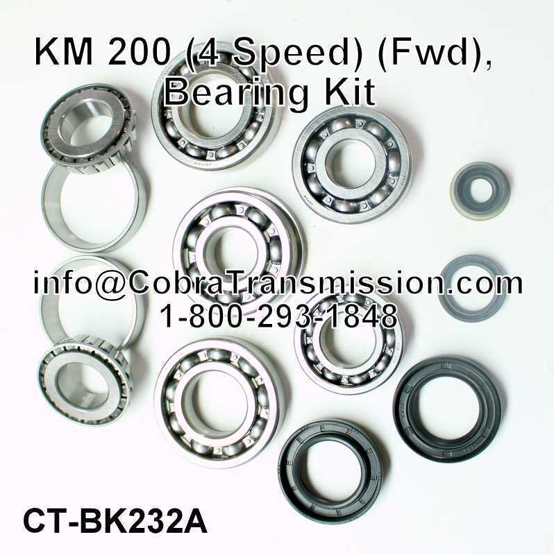 KM 200 Bearing, Gasket and Seal Kit