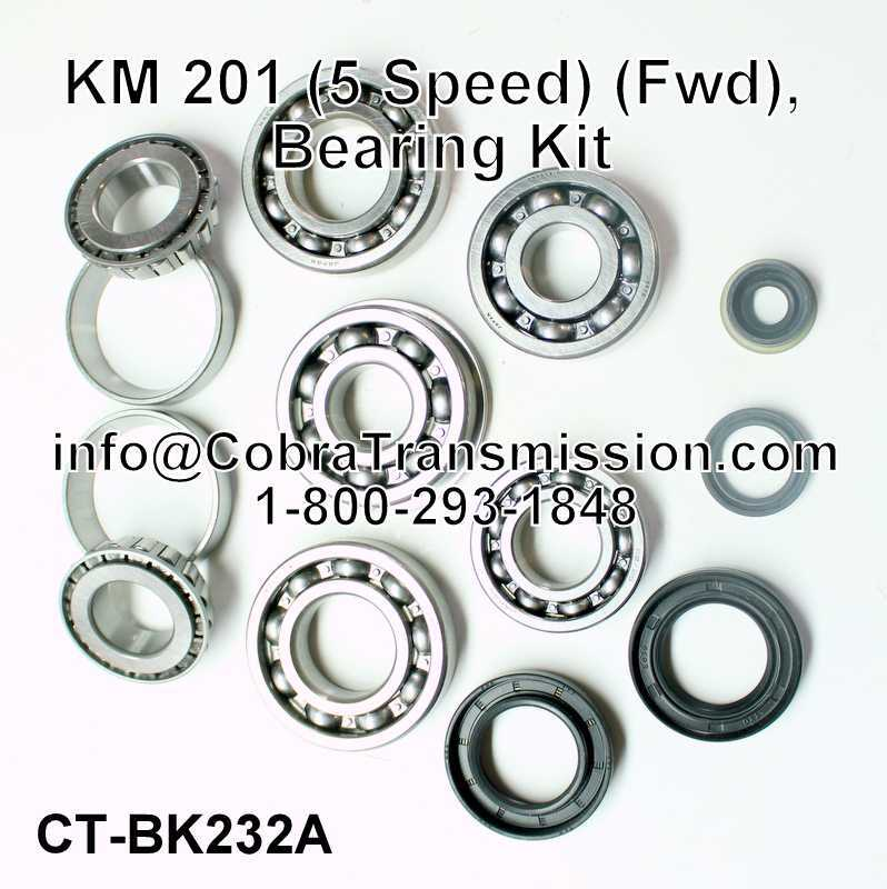 KM 201 Bearing, Gasket and Seal Kit