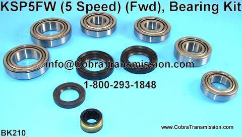 KSP5FW Bearing, Gasket and Seal Kit