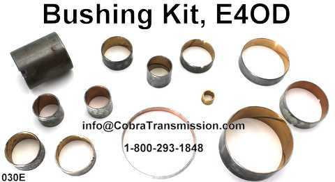 Bushing Kit, E4OD